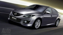 Details Surface for the New Mazda 6 MPS & Mazda 2 MPS