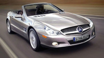 Mercedes SL major facelift computer rendering