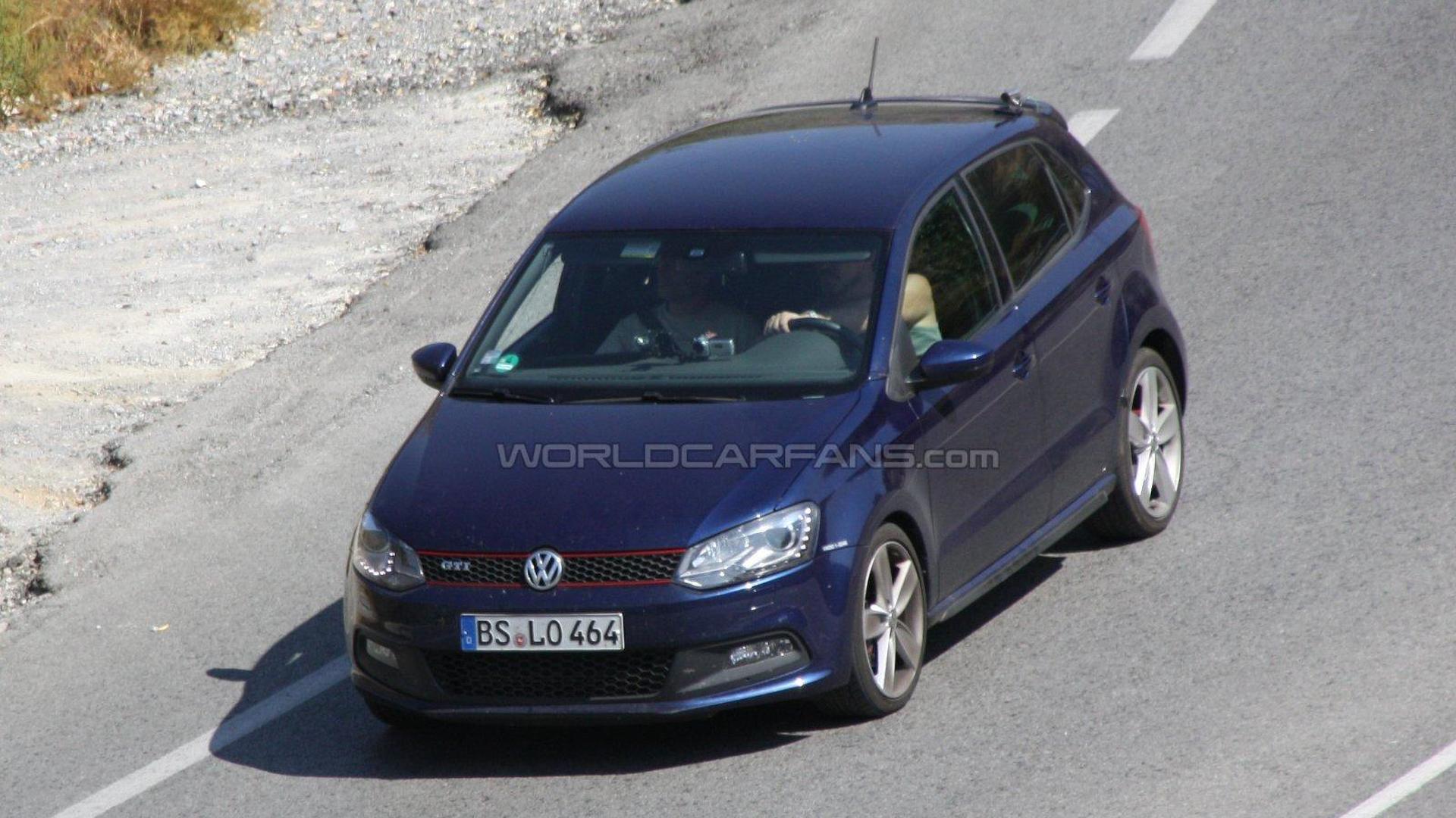 Volkswagen Polo R first spy photos