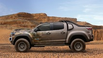 Chevrolet Colorado ZH2 is a fuel-cell powered extreme off-roader for U.S. Army