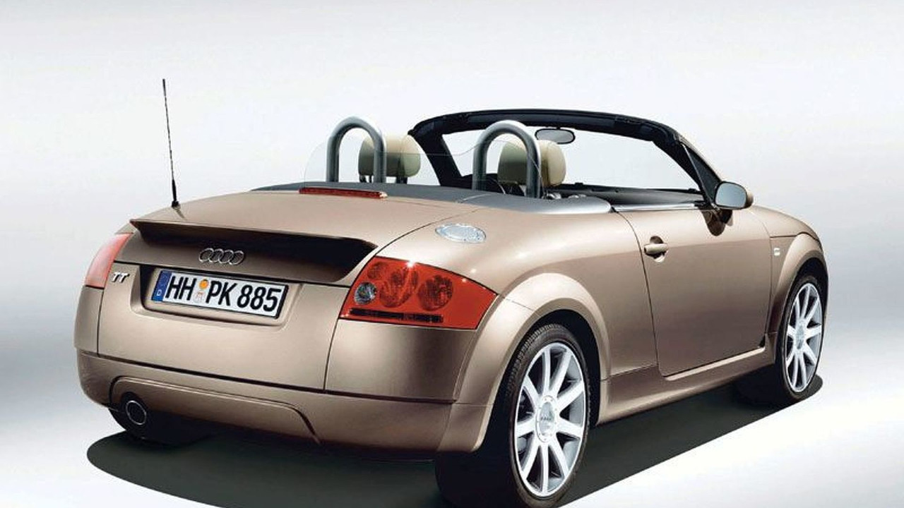 Advance Paket Lifestyle für den Audi TT Roadster