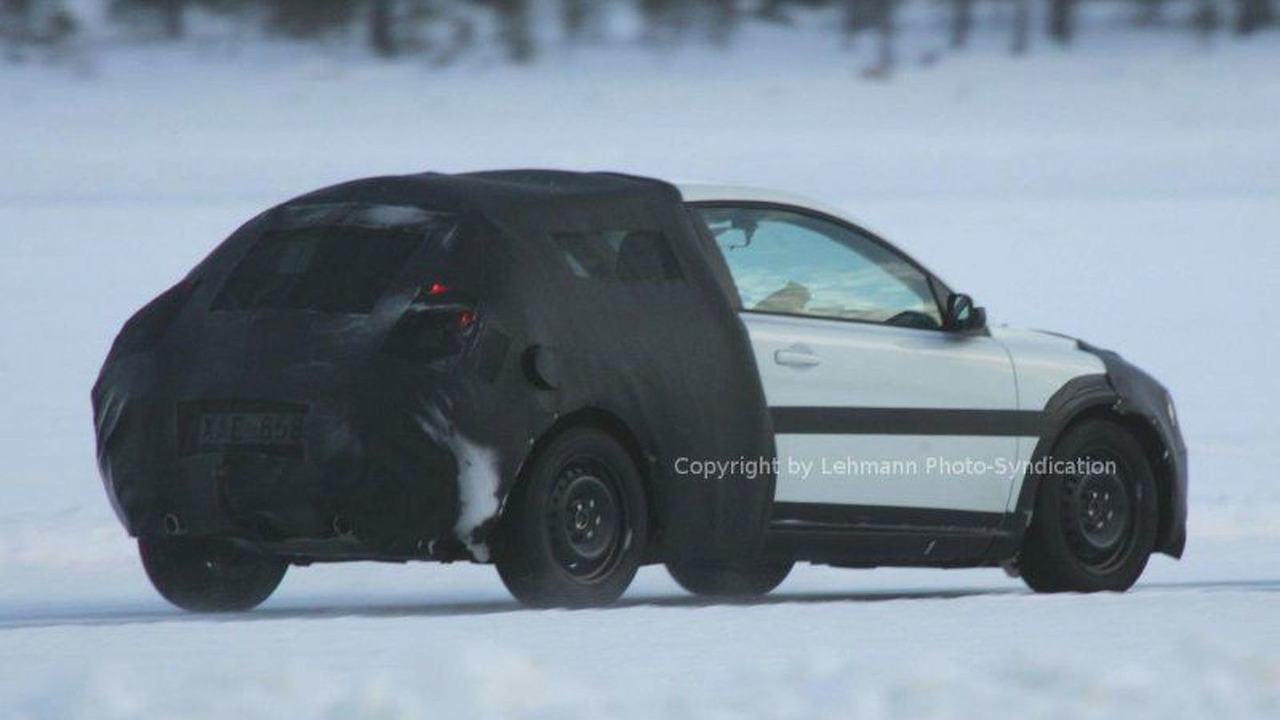 New Volvo C 30 Spy Photos