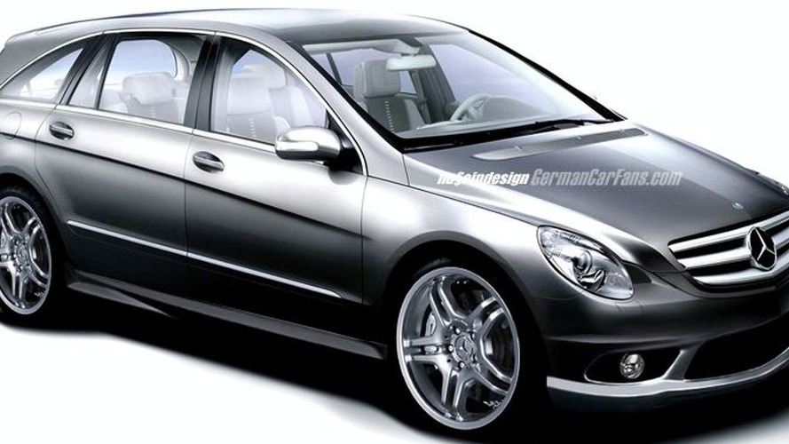 Mercedes R Class AMG for 2005