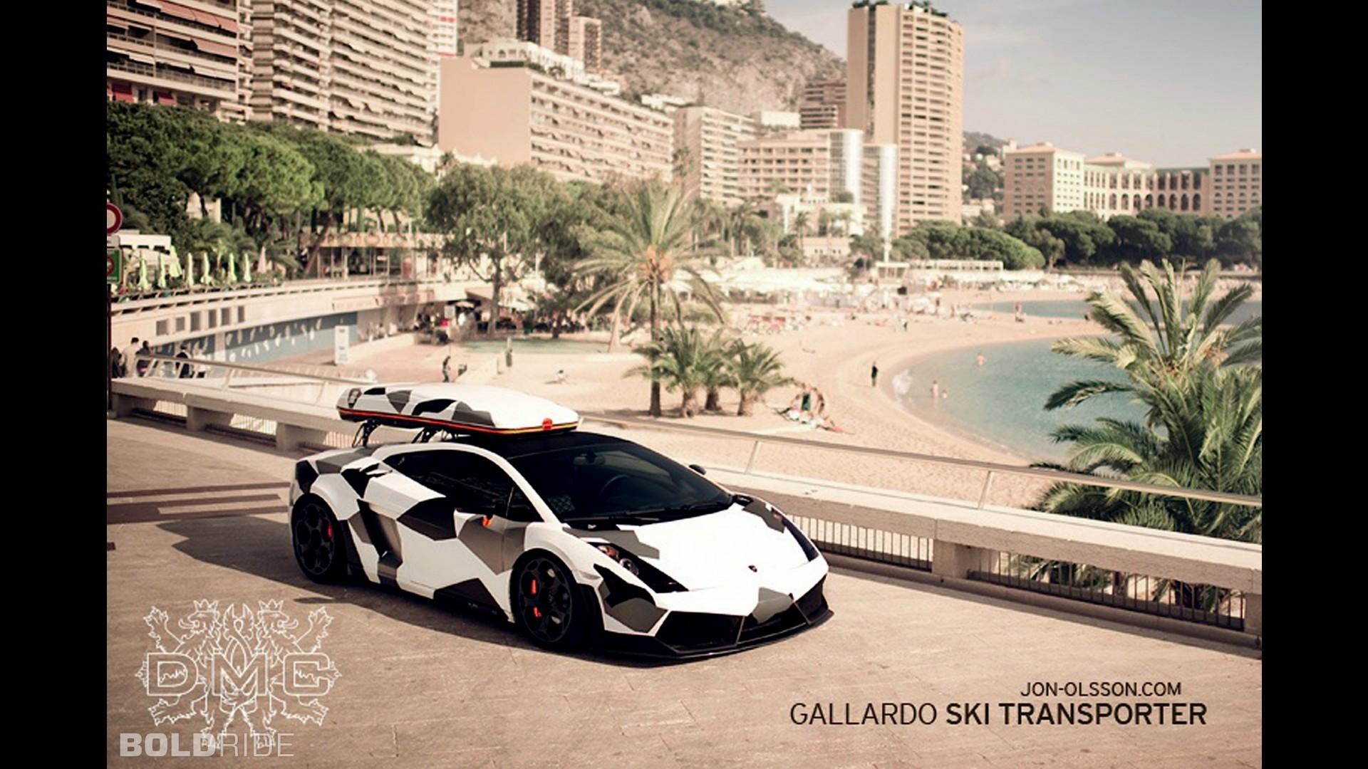 DMC Lamborghini Gallardo Ski Transporter