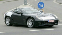 Could the model underneath this 599 frame be the new GT California?