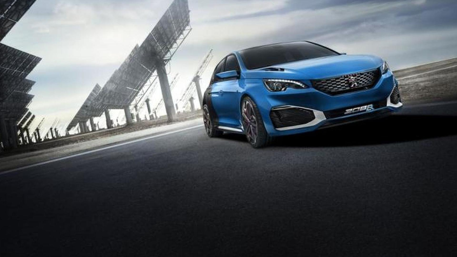 Peugeot 308 R HYbrid goes official with 500 PS and AWD