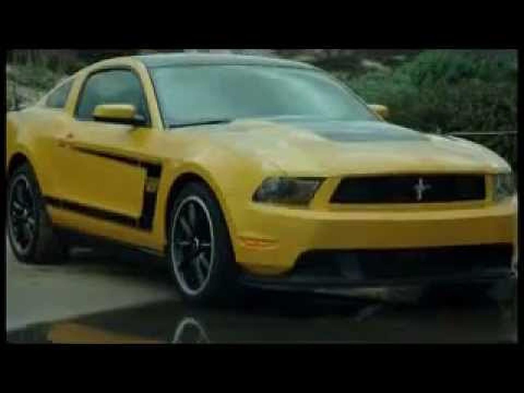 2012 Boss Mustang Exteriors