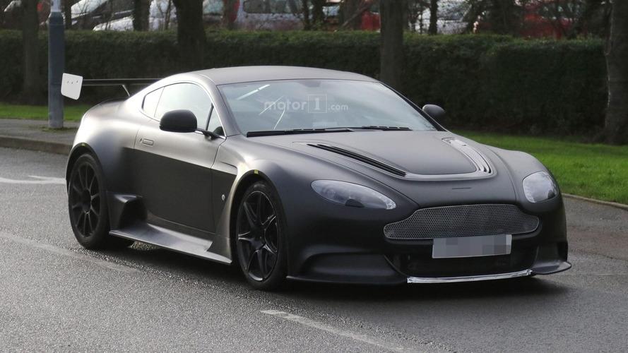 Aston Martin Vantage GT8 spy shots confirm 911 GT3 RS rival