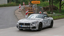 Camouflaged BMW Z5 hits the road again