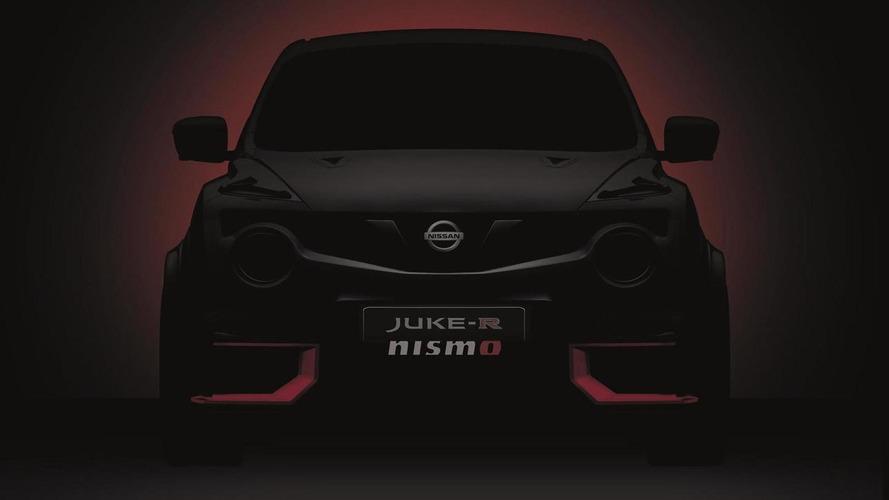 2015 Nissan Juke-R NISMO teased ahead of June 25 reveal