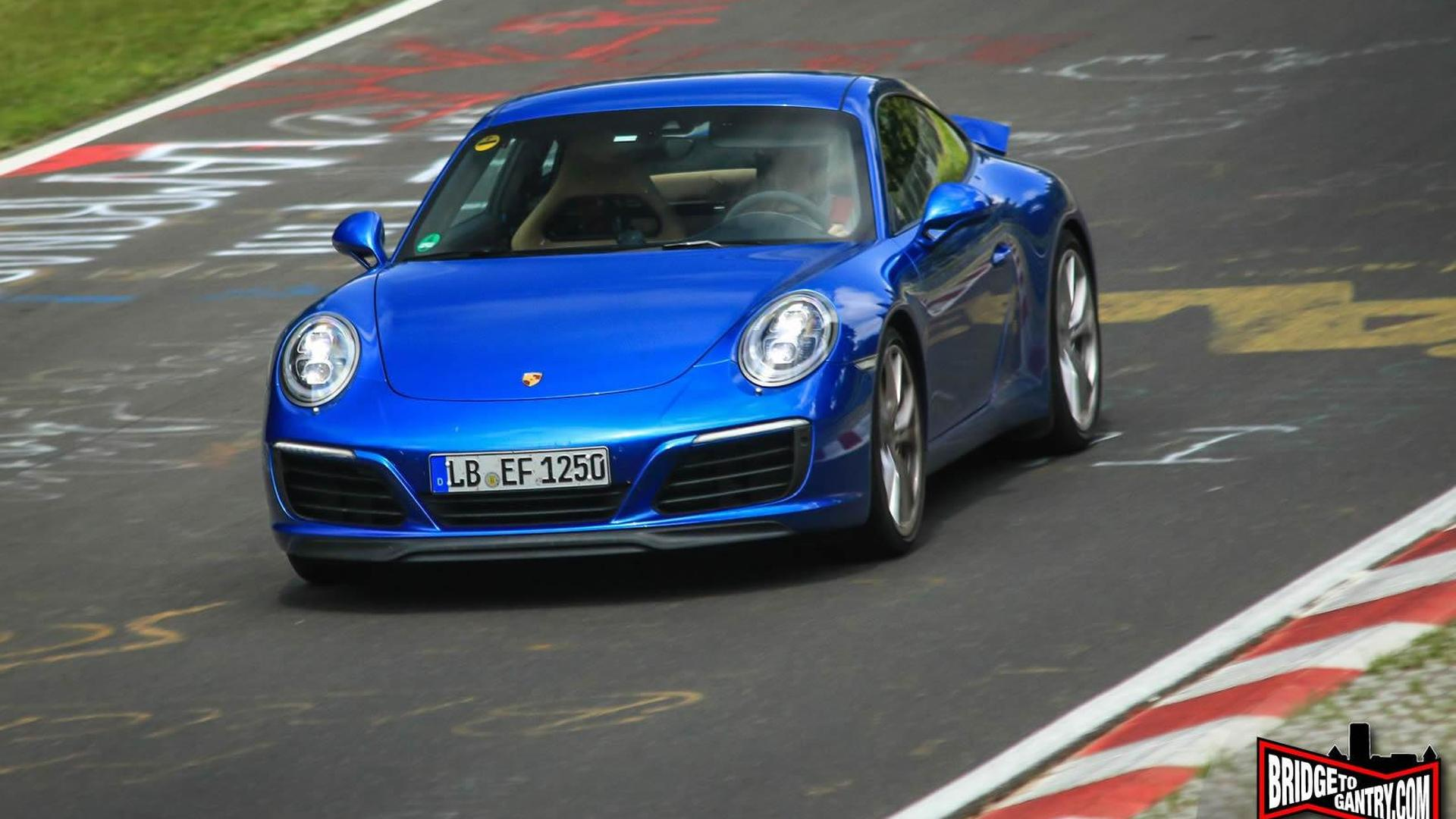Undisguised 2016 Porsche 911 facelift (991.2) returns in most revealing spy shots yet