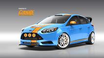 UTI Ford Focus for SEMA 21.10.2013