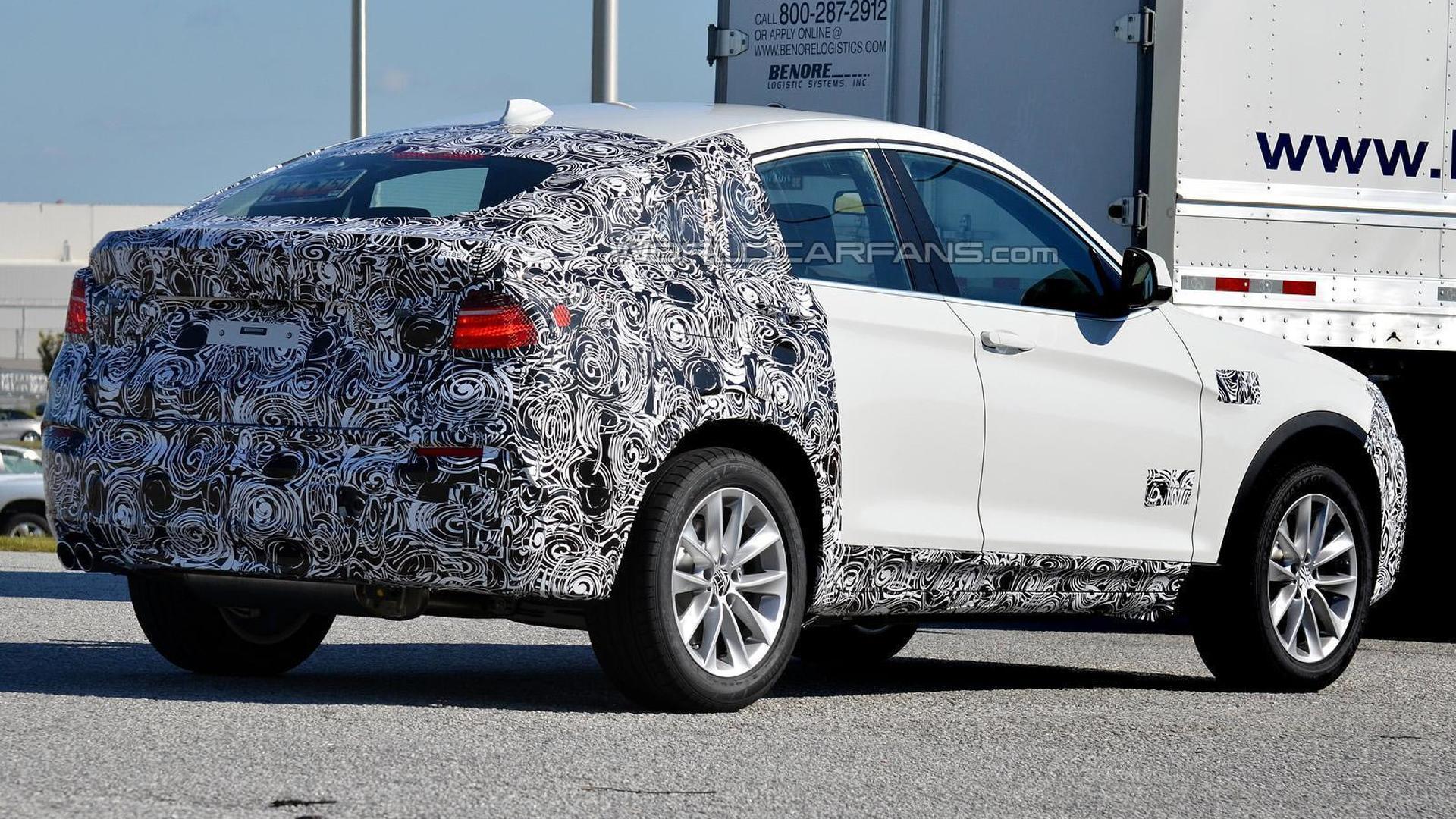 2014 BMW X4 returns to the Nurburgring [video]