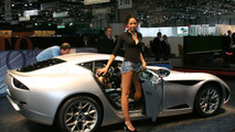 Zagato Perana Z-One at 2009 Geneva Motor Show