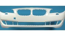 2010 BMW 5 Series front bumper fascia