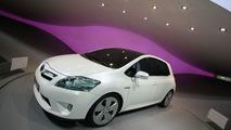 Toyota Auris HSD Full Hybrid Concept live in Frankfurt