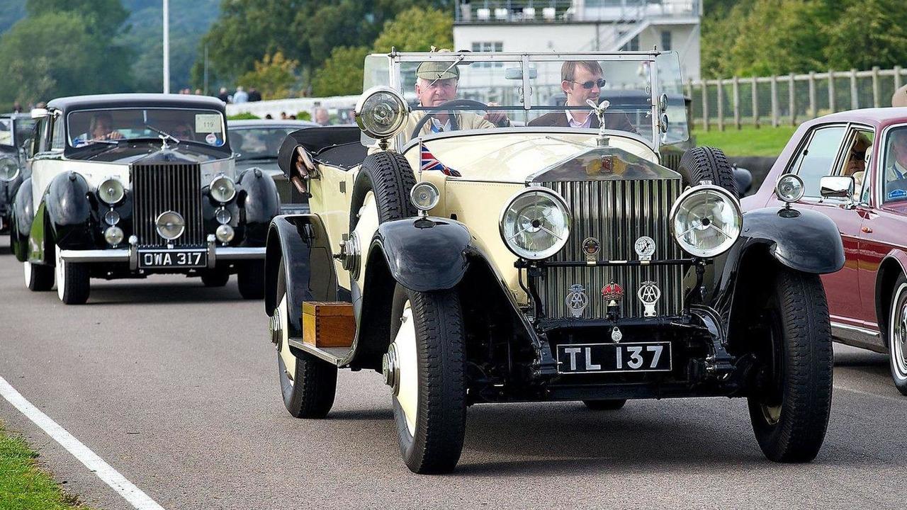 Rolls-Royce Spirit of Ecstasy Centenary 21.07.2011
