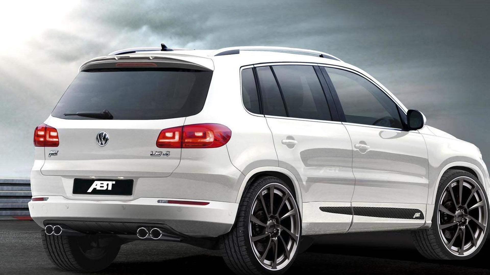 Volkswagen Tiguan facelift tuning previewed by Abt Sportline