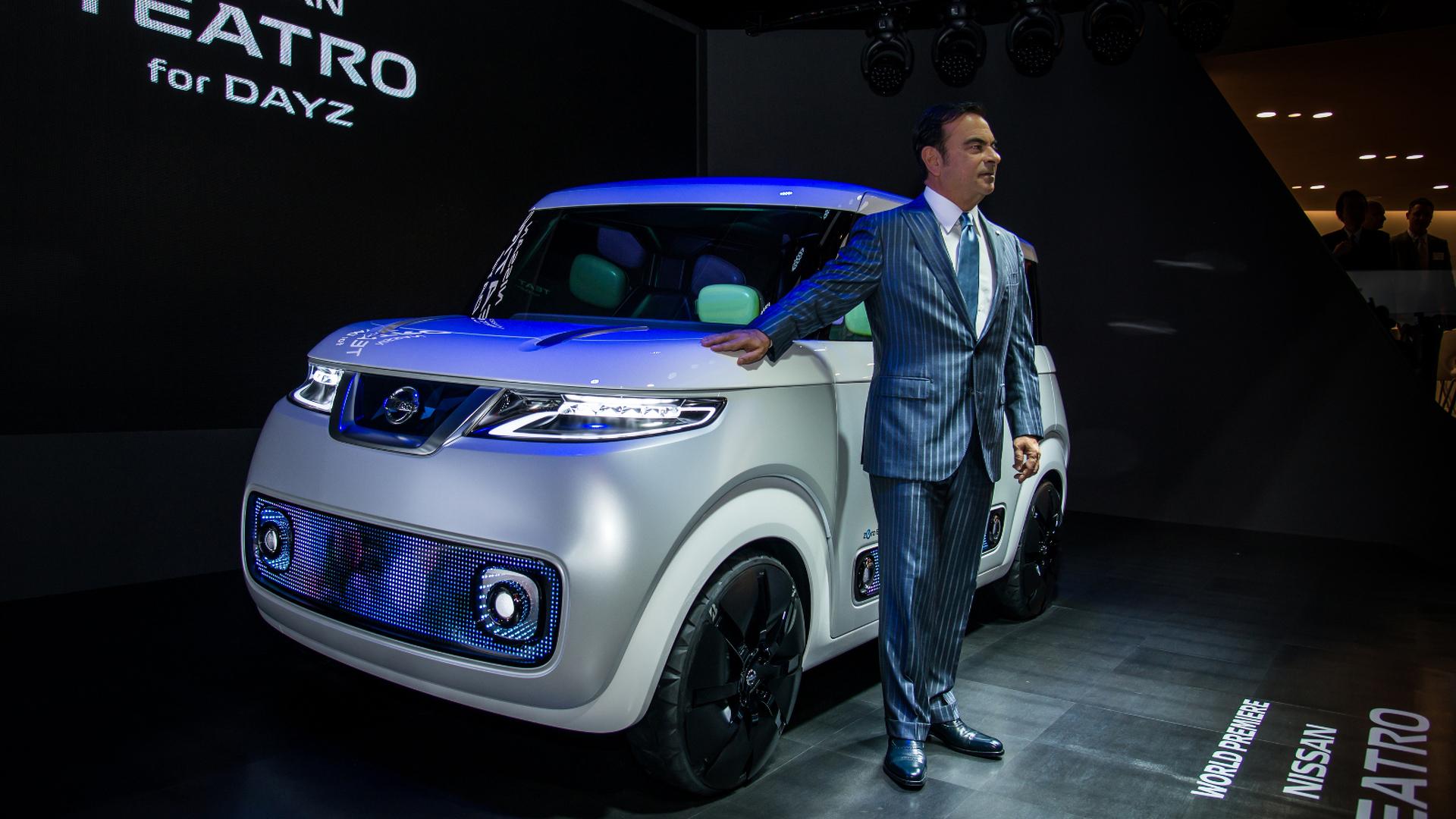 Nissan Teatro for Dayz concept arrives in Tokyo