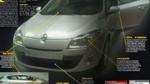 Renault Megane III Leaked