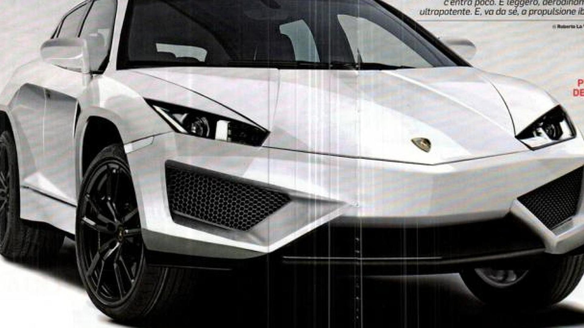 Lamborghini neither confirms nor denies SUV reports - code name LB 736