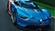 Renault Alpine A110-50 concept teased [video]