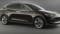 Tesla Model X Crossover revealed featuring rear gullwing/falcon doors
