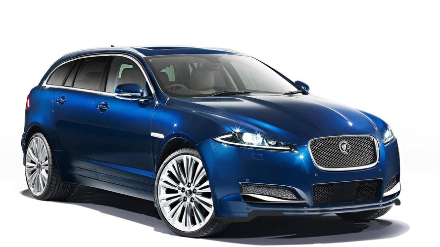 Jaguar SUV specutively rendered by WCF member