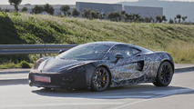 McLaren entry-level model spied for the first time
