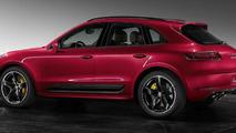 Porsche Exclusive unveils Macan Turbo with Impulse Red Metallic paint