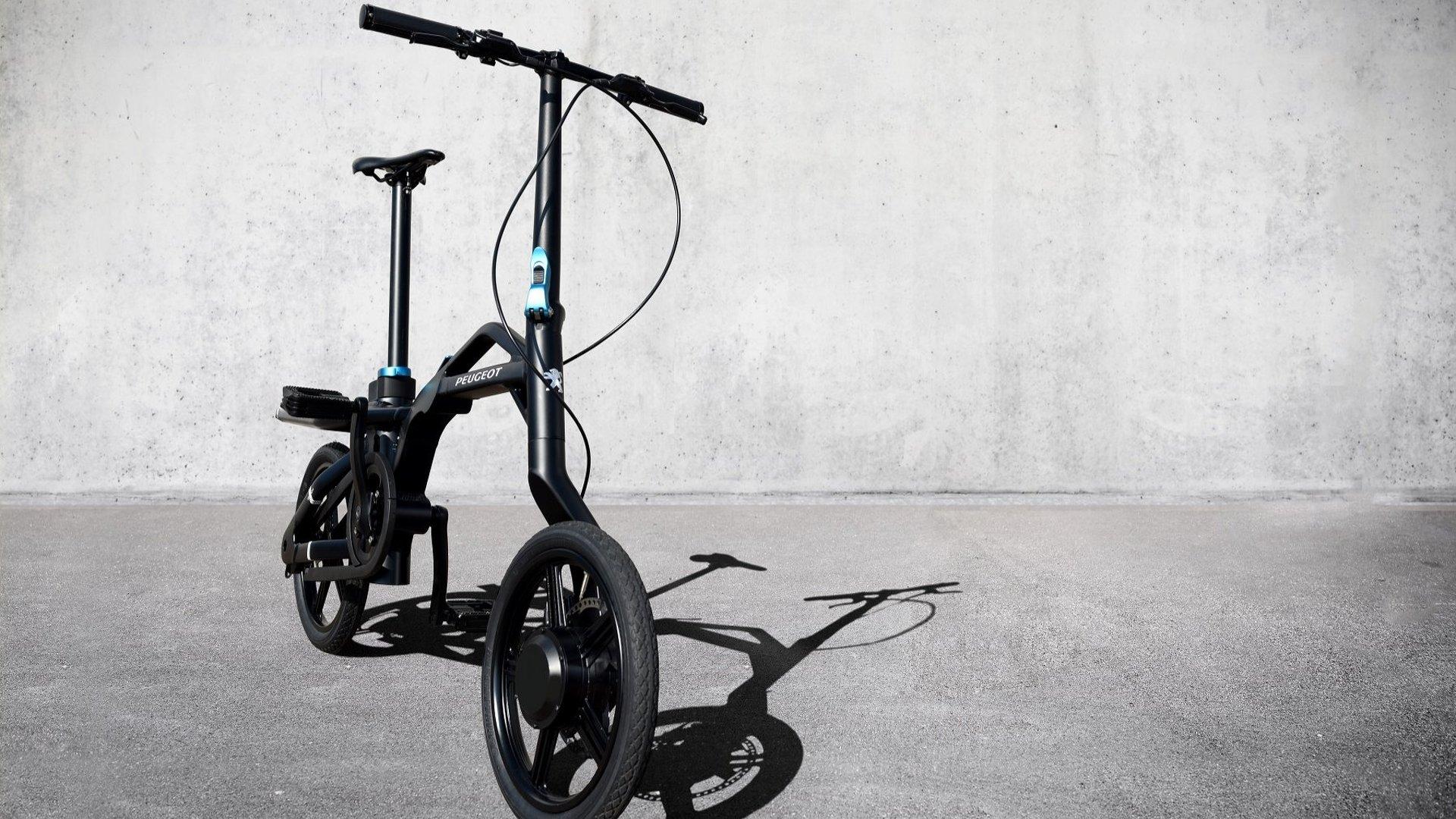 peugeot ef01 electric folding bike revealed. Black Bedroom Furniture Sets. Home Design Ideas