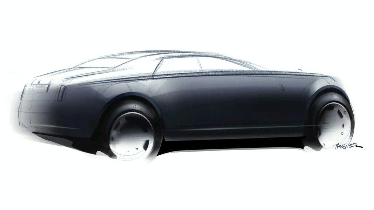 Rolls Royce RR4 sketch