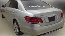 Mercedes-Benz E400L Hybrid spied in China