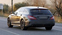 2015 Mercedes CLS 63 AMG Shooting Brake spy photo 03.12.2013