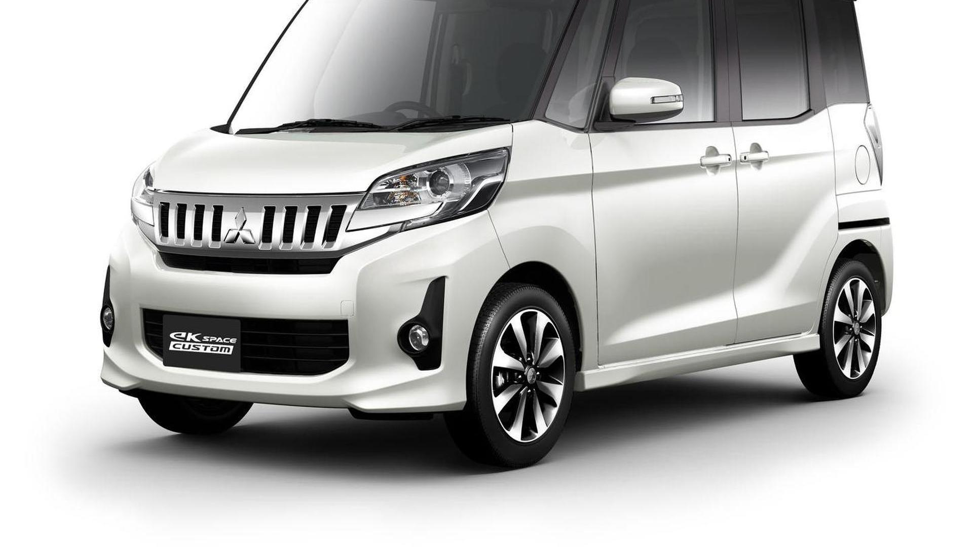 Mitsubishi eK Space announced, debuts at the Tokyo Motor Show