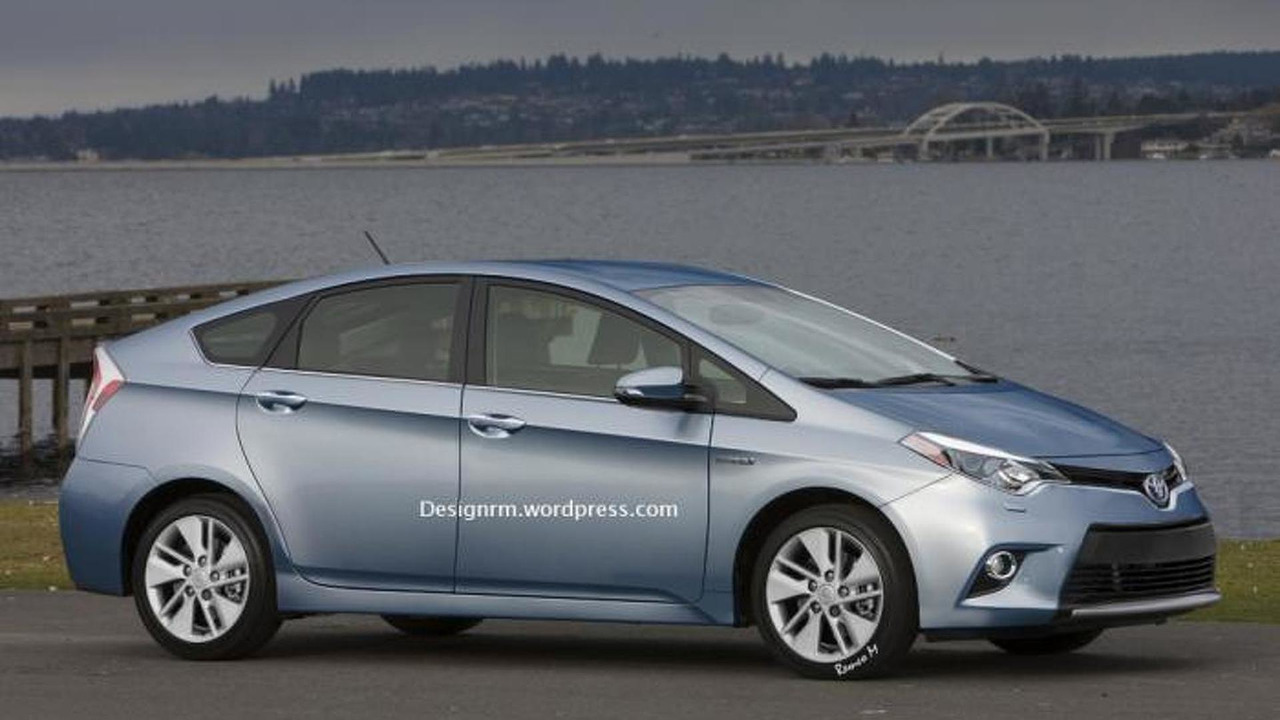 2015 Toyota Prius rendering 15.10.2013