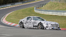 2015 Mercedes AMG GT returns to the Nurburgring