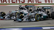 Mind games 'important' in Mercedes title battle