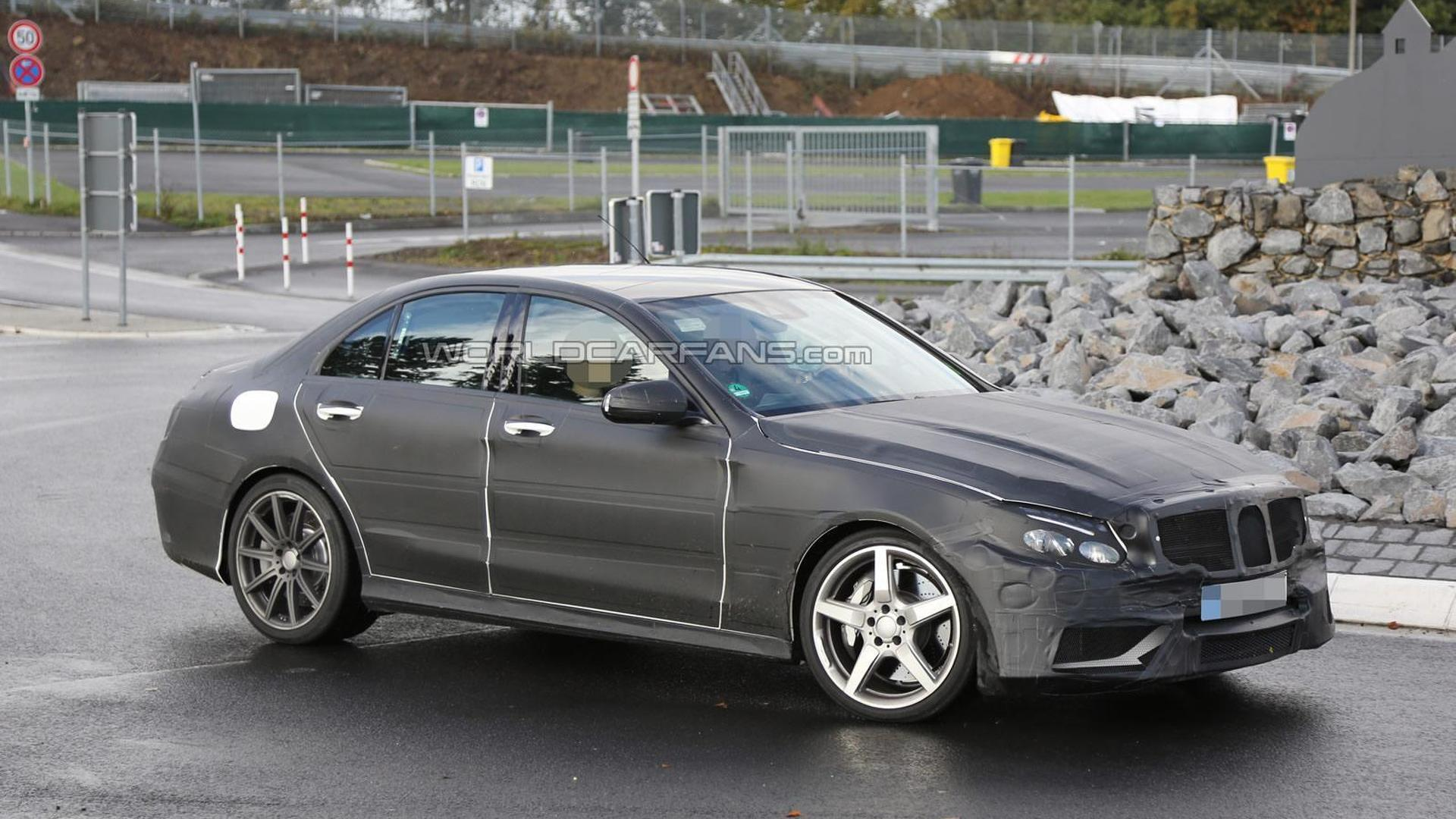 2014 Mercedes-Benz C63 AMG spied near the 'Ring