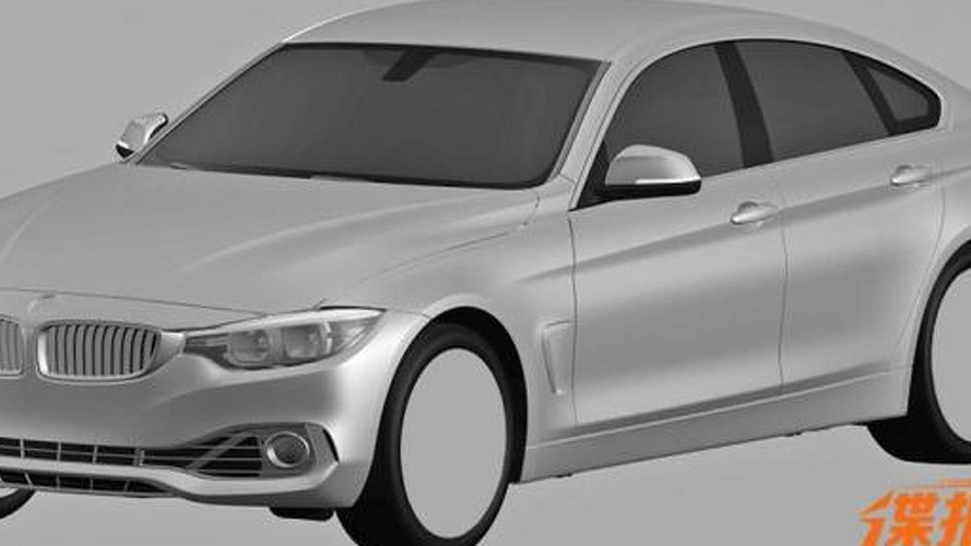 BMW 4-Series GranCoupe revealed via patent drawings