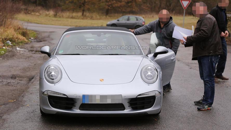 Porsche 911 Targa teased for Detroit, promises to be a modern classic [video]
