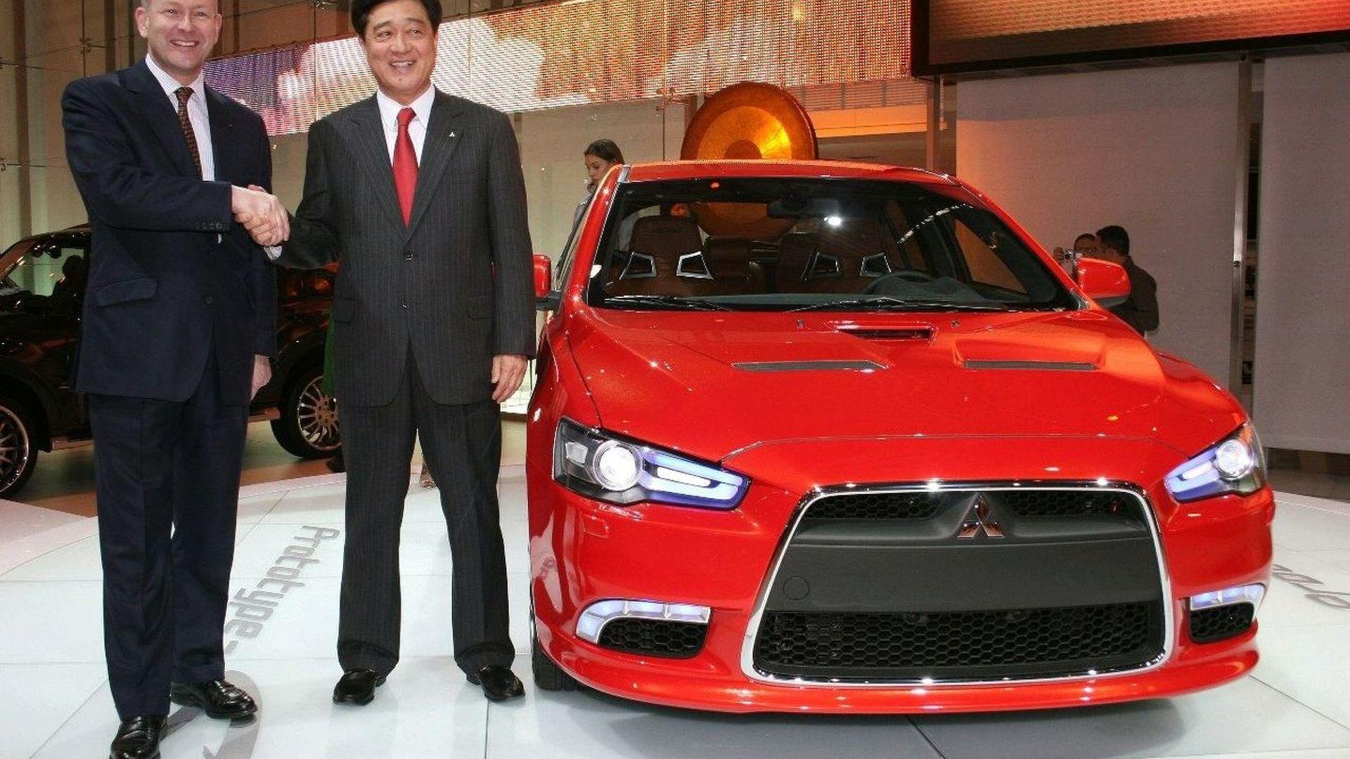 Mitsubishi Prototype S unveiled at Geneva
