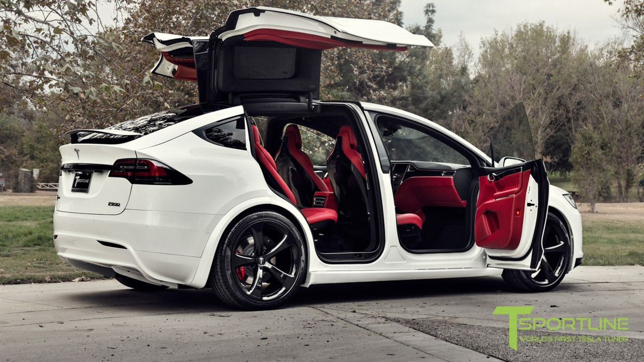 Tesla Model X Dengan Interior Bentley Ini Dibanderol 180 Ribu Usd
