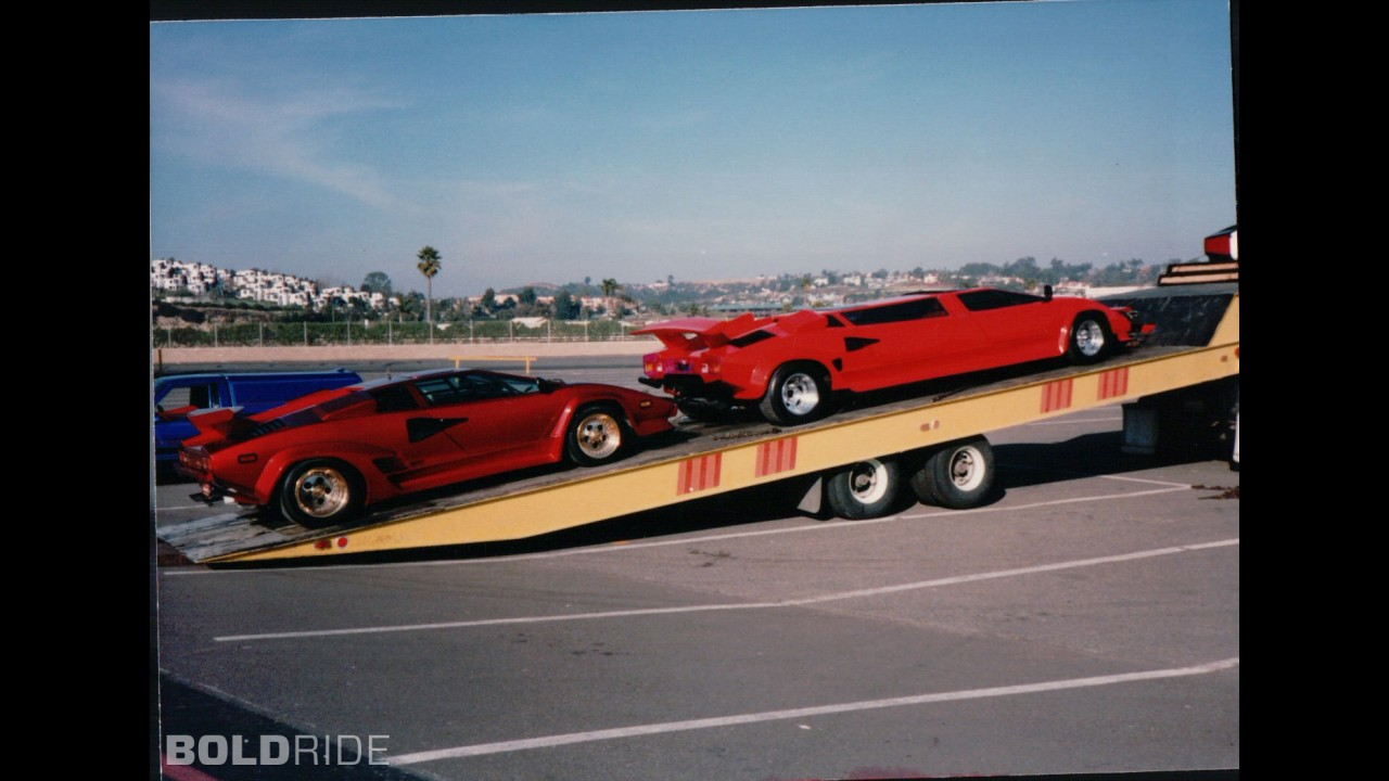 Lamborghini Countach 5000S Limousine