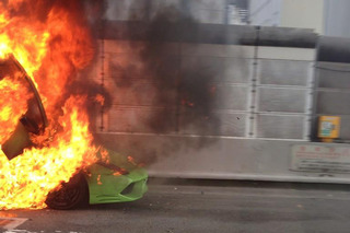 Lamborghini Murcielago Burns in a Blaze of Glory