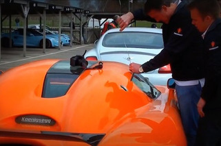 Video: Koenigsegg Owner Gets Locked Out, Breaks in with Coat Hanger