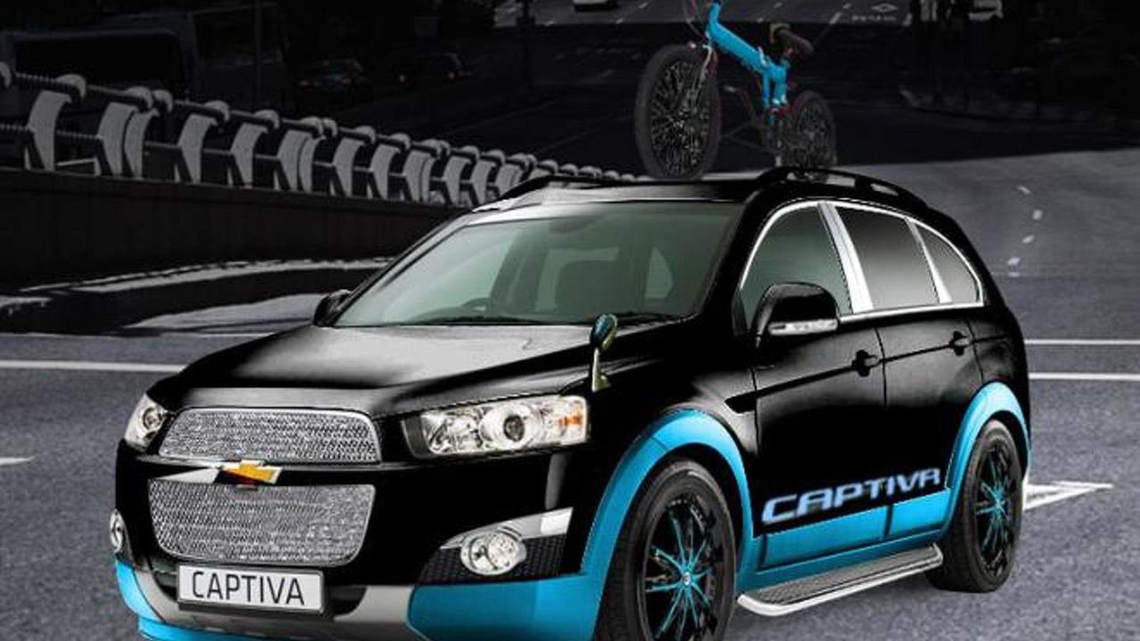 Chevrolet Captiva Freedom Rider