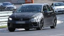 Volkswagen Golf VII R spied testing at Nürburgring