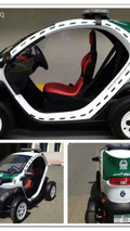 Dubai police surprises with a Renault Twizy