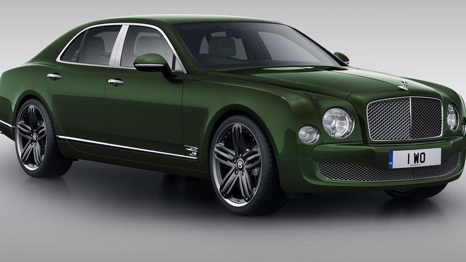 Bentley Mulsanne Le Mans Edition headed to Pebble Beach